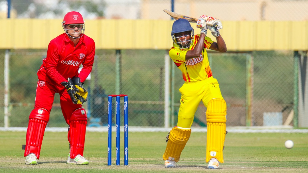 Game One Div 3 WCL - Uganda Defeated Denmark By 5 Wickets