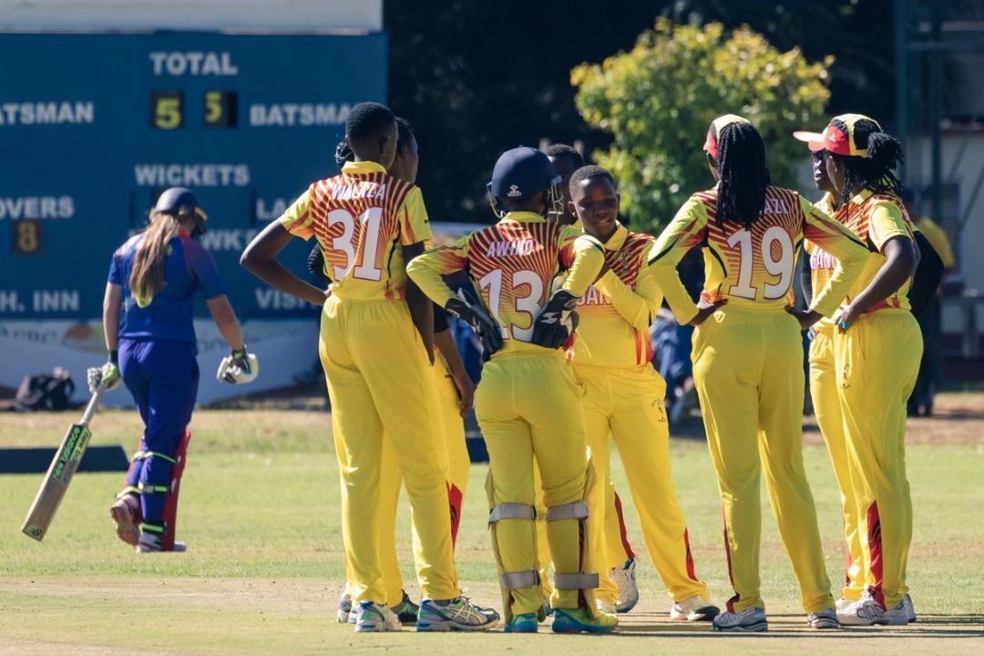 ICC Women's World Cup Qualifiers Zimbabwe 2019 Uganda Women v Namibia Women