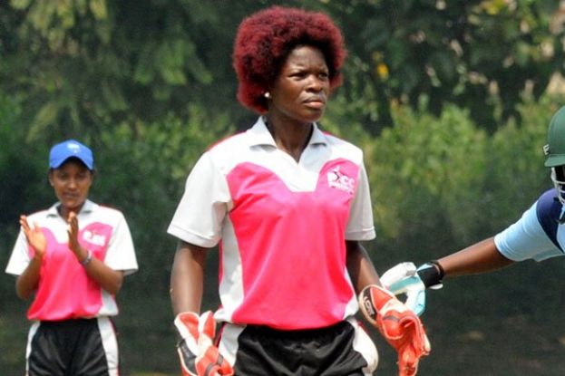 Former Lady Cricket Cranes captain Mukankusi, who plays for Pioneer, was been recalled. PHOTO BY EDDIE CHICCO
