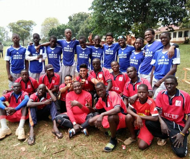 Mixed photo of Charity TFCC and Jinja SSS at Jinja Oval