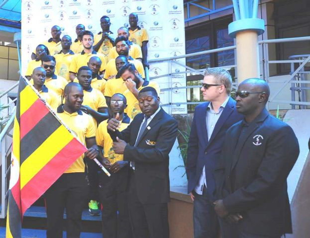 The team was flagged off on Friday