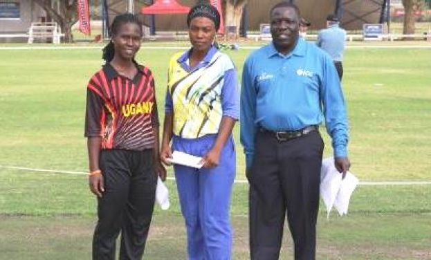 The Late Francis Ekalungar at the Womens Qualifiers in Namibia where the Ladies Cranes were victorious.