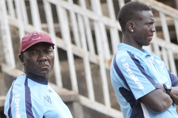Finer Details. Coach Tikolo (L) wants the bowling to be up to scratch. FILE PHOTO